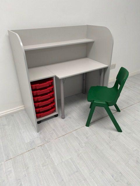 SEN Single Unit Green Chair